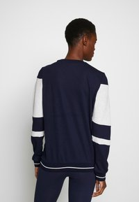 ONLY PLAY Tall - ONPFELICE CREWNECK - Mikina - maritime blue/white melange - 2