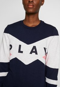 ONLY PLAY Tall - ONPFELICE CREWNECK - Sweatshirt - maritime blue/white melange - 4
