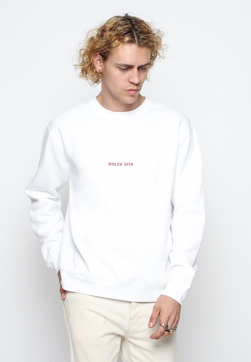 On Vacation - Sweatshirt - white