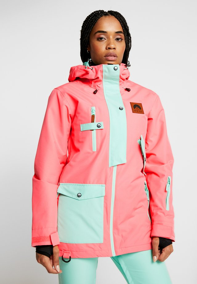 WOMENS JACKET - Ski jas - coral