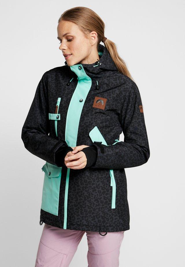 WOMENS JACKET - Ski jacket - black