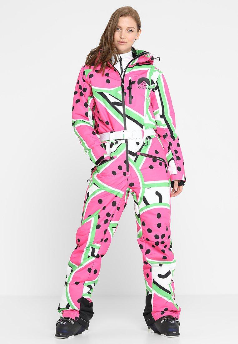 OOSC - LE GROS MELON - Pantalon de ski - multicolor