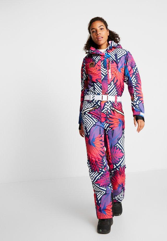 P.O.P.P.A. FEMALE FIT - Snow pants - multi-coloured