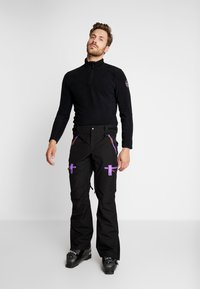 OOSC - FRESH POW - Spodnie narciarskie - black - 3
