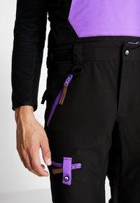 OOSC - FRESH POW - Spodnie narciarskie - black - 5