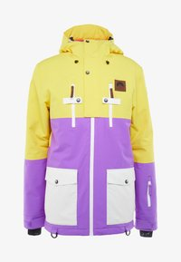 OOSC - YEH MAN JACKET - Lyžařská bunda - yellow/purple - 6