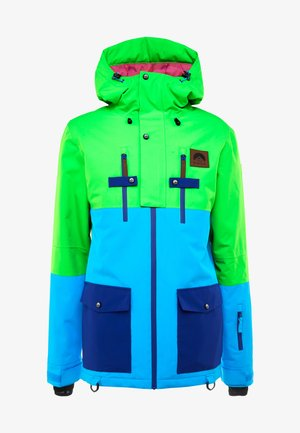 YEH MAN JACKET - Ski jas - green/blue