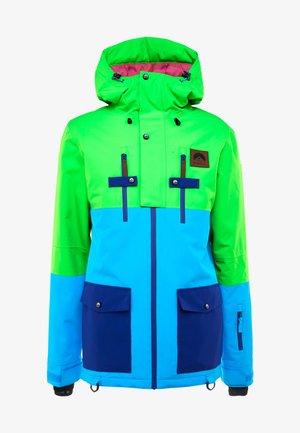 YEH MAN JACKET - Kurtka narciarska - green/blue