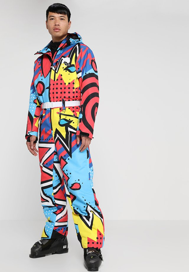 FRESH PRINCE - Pantalon de ski - multi-coloured