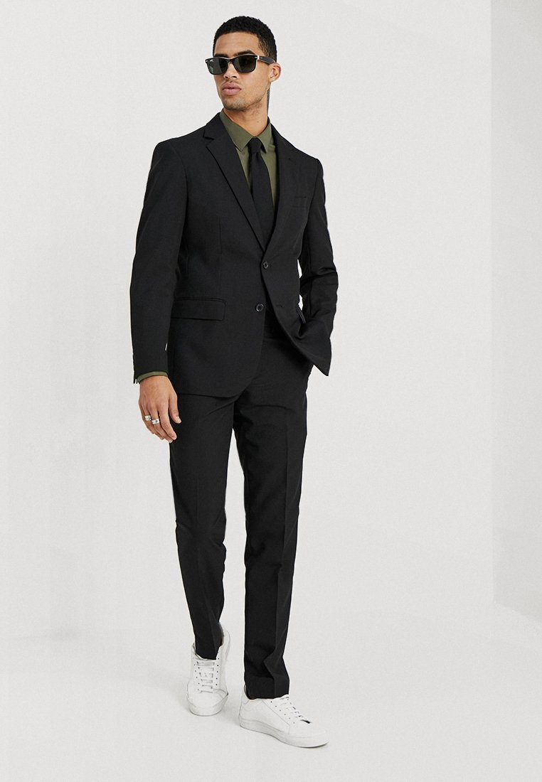 OppoSuits - KNIGHT - Oblek - black
