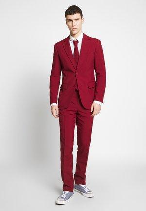 BLAZING - Oblek - bordeaux