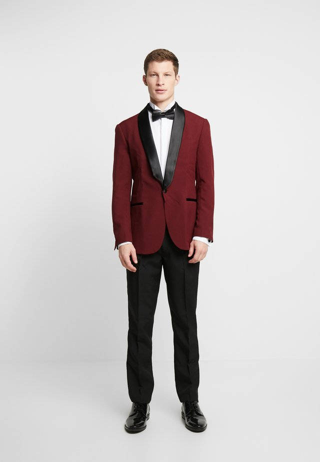 HOT TUXEDO - Suit - burgundy