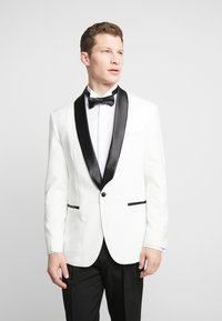OppoSuits - PEARLY TUXEDO WITH BOW TIE - Completo - white - 2