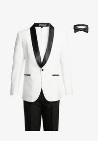 OppoSuits - PEARLY TUXEDO WITH BOW TIE - Completo - white - 8
