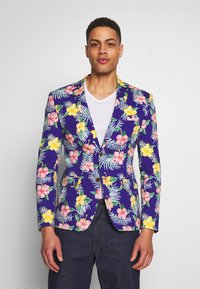 OppoSuits - TROPICAL FLOWERS - Blazer jacket - blue - 0