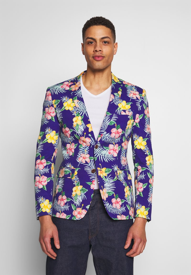 OppoSuits - TROPICAL FLOWERS - Blazer jacket - blue
