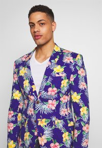 OppoSuits - TROPICAL FLOWERS - Blazer jacket - blue - 3