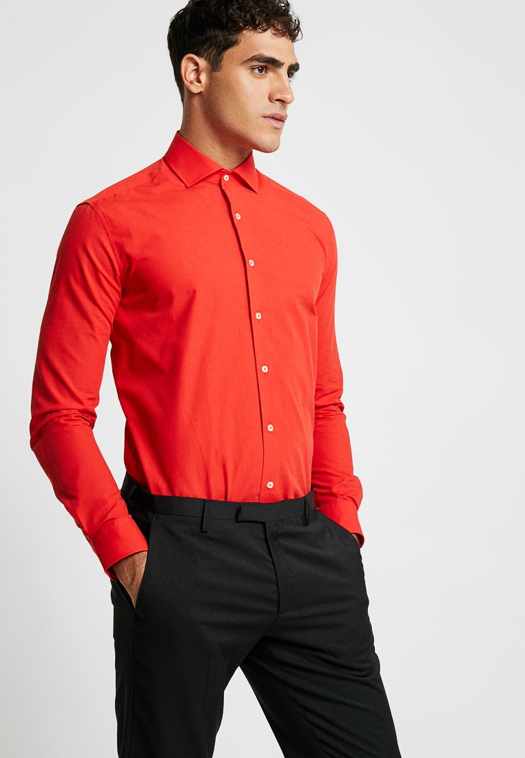OppoSuits - SOLID COLOUR - Formal shirt - red devil