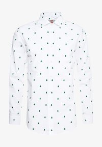 OppoSuits - CHRISTMAS TREES TAILORED FIT - Shirt - white - 3
