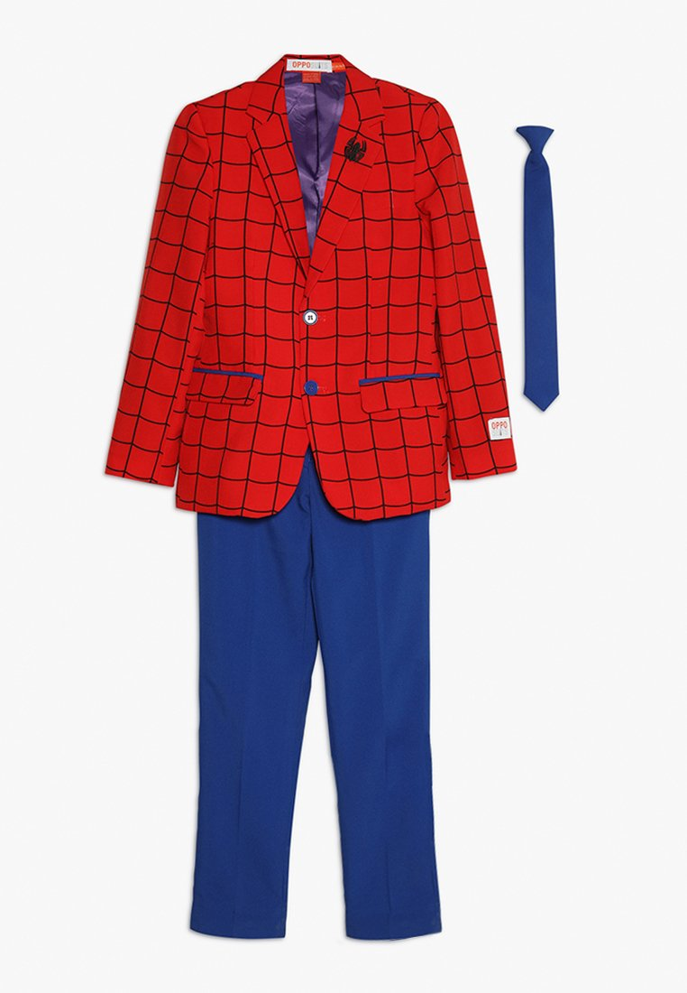OppoSuits - TEEN BOYS SPIDER-MAN™ SET - Americana - red