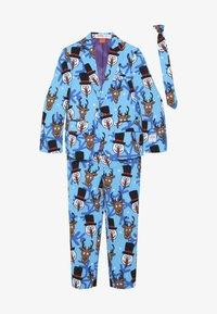 OppoSuits - KIDS WINTER WINNER - Suit - blue - 4