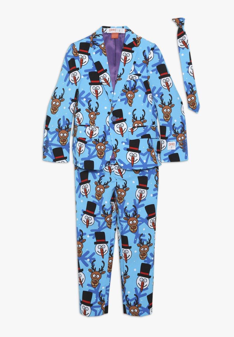 OppoSuits - KIDS WINTER WINNER - Suit - blue