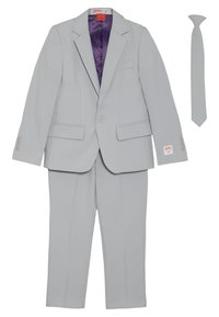 OppoSuits - KIDS GROOVY SET - Blazer jacket - grey - 0