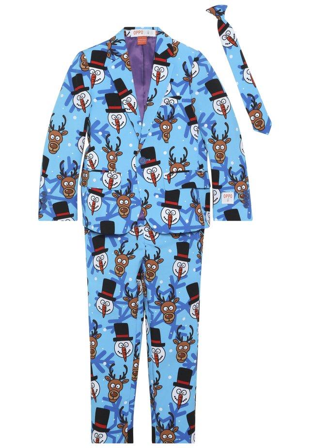 TEENS WINTER WINNER - Suit - blue