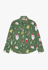 OppoSuits - KIDS SANTABOSS - Shirt - green - 0