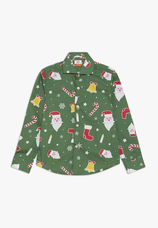 KIDS SANTABOSS - Shirt - green