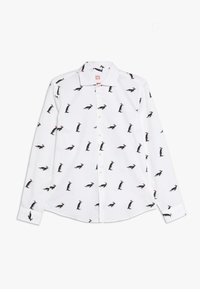 OppoSuits - TEENS CHRISTMAS PENGUINS  - Košile - white - 0