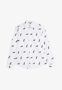 OppoSuits - TEENS CHRISTMAS PENGUINS  - Košile - white - 3
