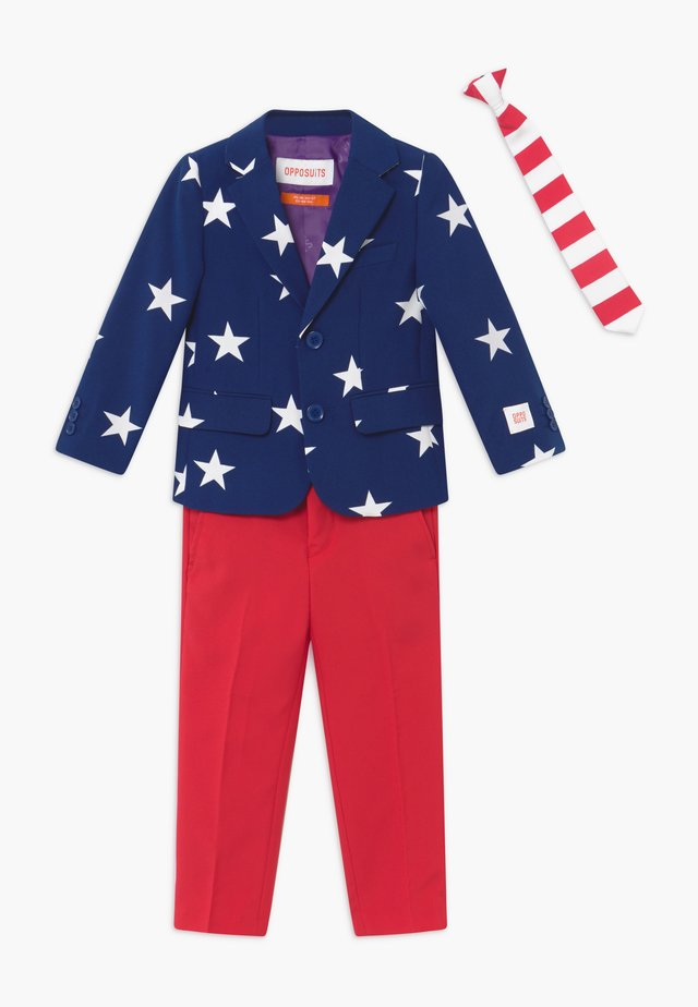 STARS AND STRIPES - Puku - blue/red