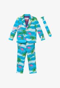 OppoSuits - FLAMINGUY - Suit - light blue/pink - 3