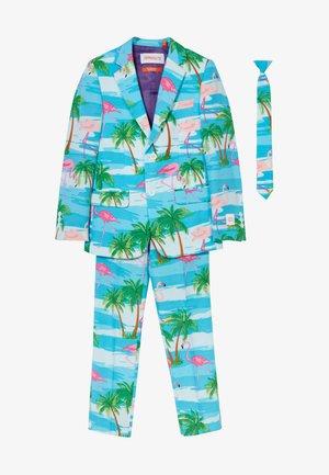 FLAMINGUY SET - Oblek - light blue/pink
