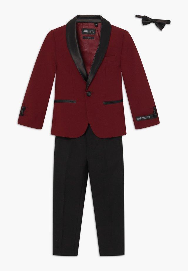 TUXEDO KIDS SET - Kostym - hot burgundy