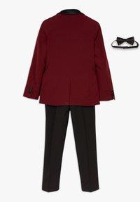 OppoSuits - HOT TUXEDO TEENS SET - Suit - burgundy - 1