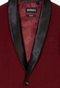 OppoSuits - HOT TUXEDO TEENS SET - Suit - burgundy - 6