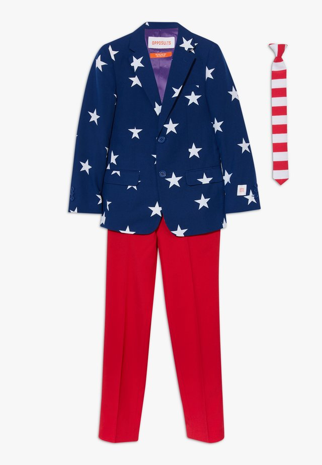 STARS AND STRIPES SET - Puku - blue/red