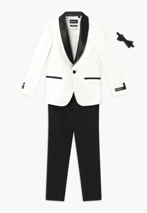 PEARLY TUXEDO KIDS - Suit trousers - midnight blue