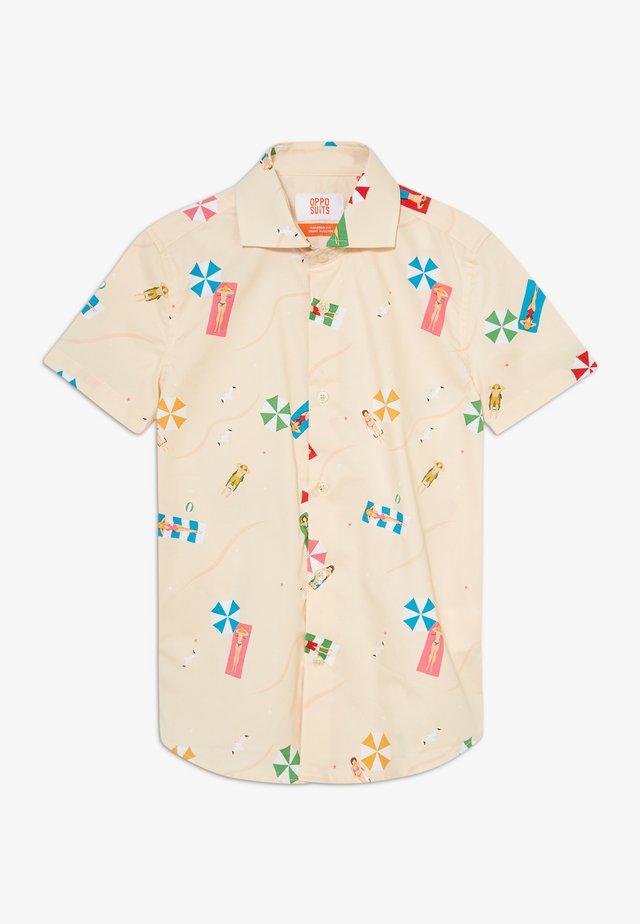BEACH LIFE - Camicia - beige