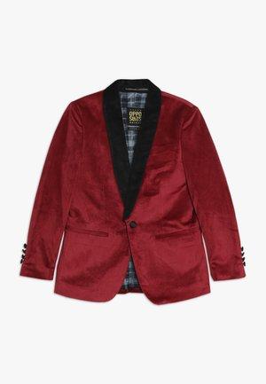 TEENS DINNER JACKET - Suit jacket - burgundy