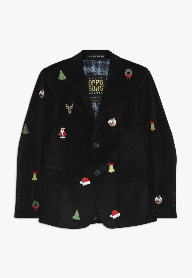 TEENS X-MAS ICONS - Suit jacket - black