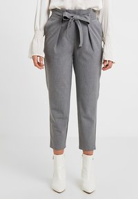 ONLY Petite - ONLNICOLE PANTS - Trousers - light grey - 0