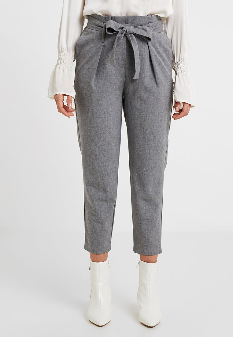 ONLY Petite - ONLNICOLE PANTS - Stoffhose - light grey