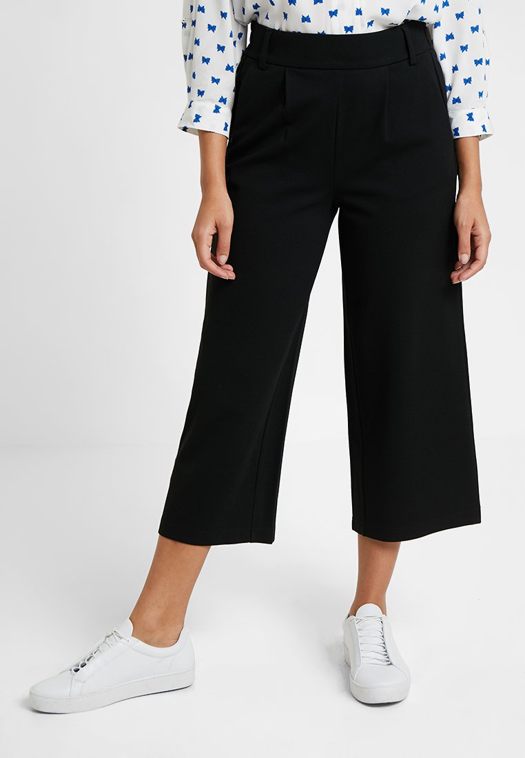 ONLY Petite - ONLPOPTRASH EASY - Trousers - black