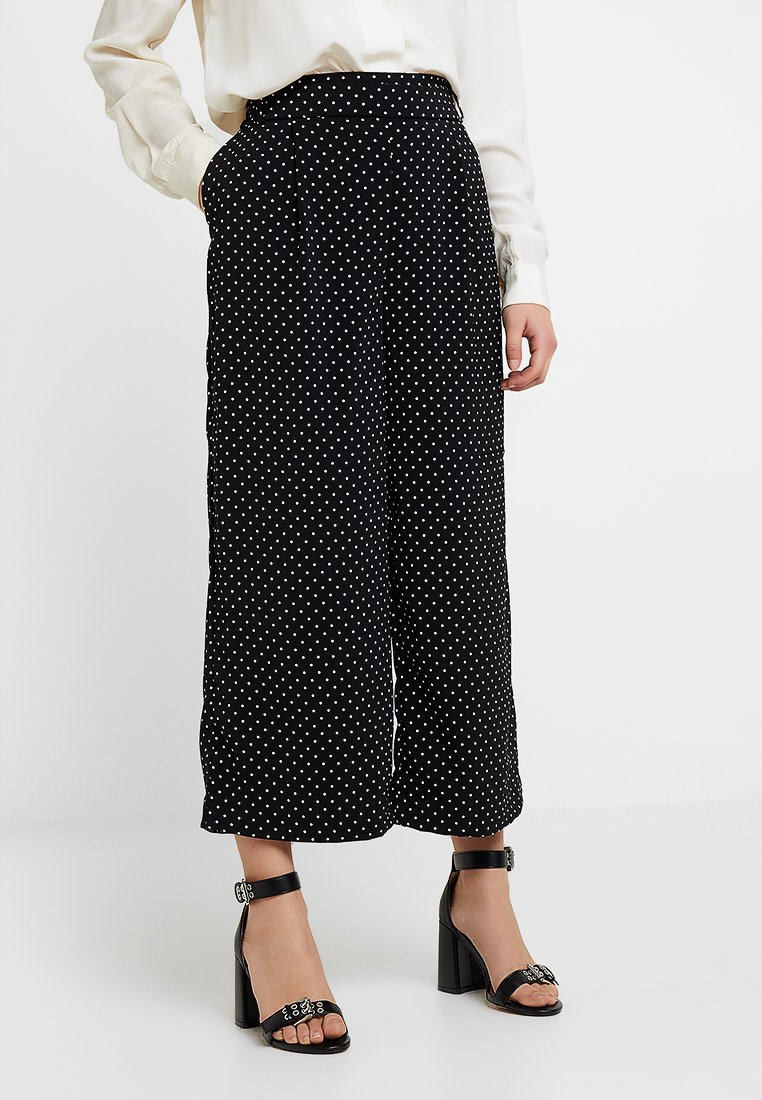 ONLY Petite - ONLLIMA CULOTTES - Stoffhose - black