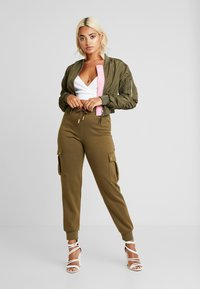 ONLY Petite - ONLESME LONG PANTS - Tracksuit bottoms - beech - 2