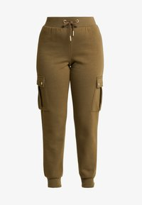 ONLY Petite - ONLESME LONG PANTS - Tracksuit bottoms - beech - 5