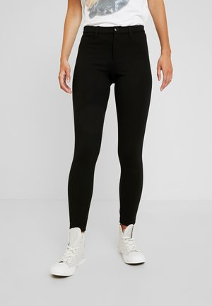 ONLEVIE ANKLE SOLID - Leggings - black